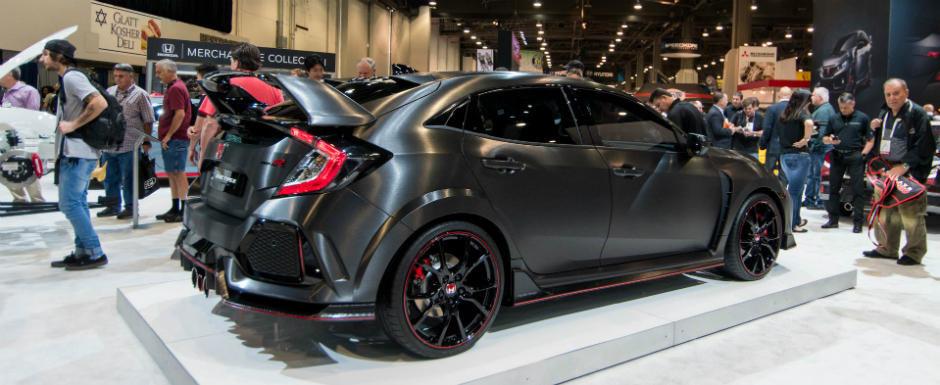 Noua Honda Civic Type R i-a uimit pe toti cei prezenti la SEMA. Interiorul ramane inca un mister