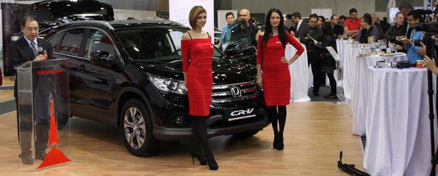 Noua Honda CR-V, disponibila in Romania de la 19.990 euro fara TVA