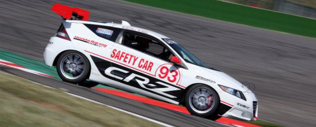 Noua Honda CR-Z asigura electricitatea Cursei de la Le Mans