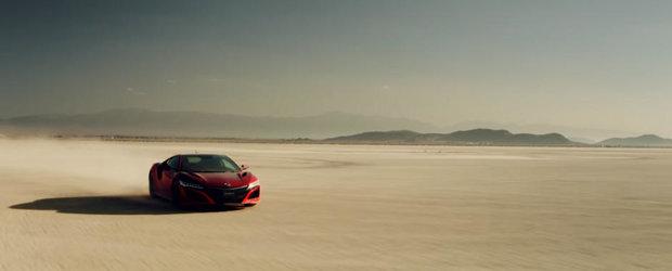 Noua Honda NSX stie sa deseneze. Nu crezi? Uite aici