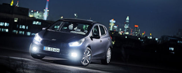 Noua Kia Cee'd - Galerie foto, plus specificatii complete