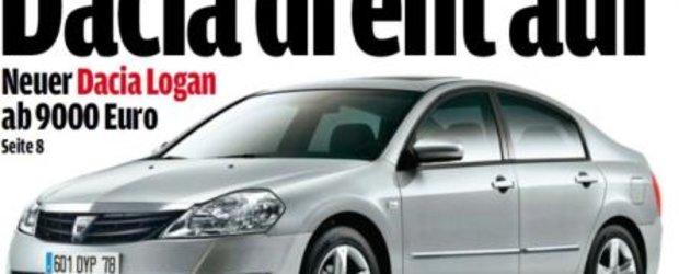 Noua limuzina de la Dacia se va lansa in septembrie, la Paris. Nu va fi un Logan 2!