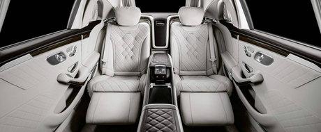 Noua LIMUZINA de la Mercedes este o bestie de 6.5 metri cu motor V12 si interior de 5 stele. Cat costa