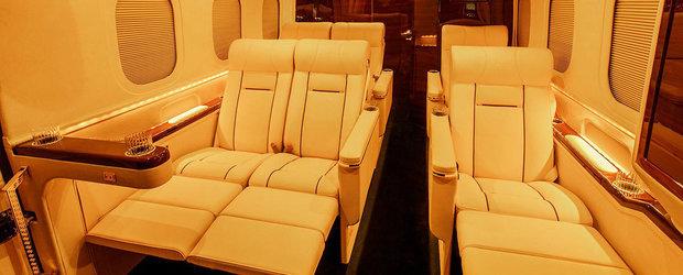 Noua lor masina arata ca un avion privat. FOTO ca sa te convingi si singur