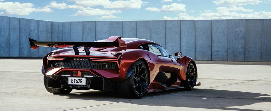 Noua masina a australienilor are cel mai puternic V8 aspirat sub capota si arata de zile mari. POZE