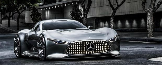 Noua masina a lui Batman este un Mercedes in doua portiere, cu design fabulos, constructie din carbon si 585 CP sub capota