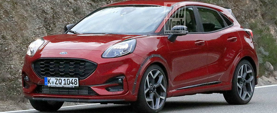Noua masina construita in Romania va avea si o versiune de performanta. Fotografii spion au surprins-o complet necamuflata