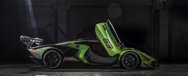 Noua masina cu 830 CP de la LAMBORGHINI este nebunie curata. Italienii vor face numai 40 de bucati