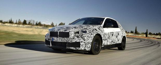 Noua masina cu tractiune fata de la BMW va primi un motor de 306 CP ca sa se poata bate cu Audi S3 si Mercedes A35 AMG