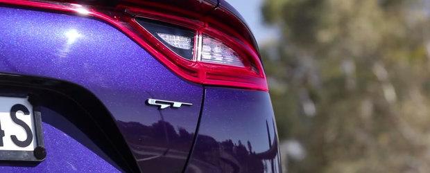 Noua masina de 365 CP de la Kia mai face o victima. A batut un Mustang cu motor V8 pe sfertul de mila