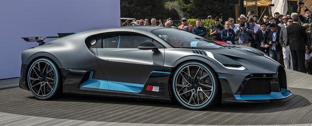 Noua masina de cinci milioane de euro de la Bugatti nu seamana cu nimic din ce ai vazut pana acum. POZE REALE