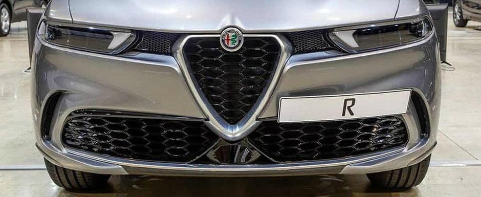Noua masina de la Alfa a ajuns mai devreme pe internet. Italienii vor stergerea de urgenta a celor trei fotografii