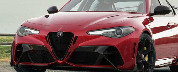 Noua masina de la Alfa e nebunie curata! Primele imagini oficiale au fost publicate chiar acum!