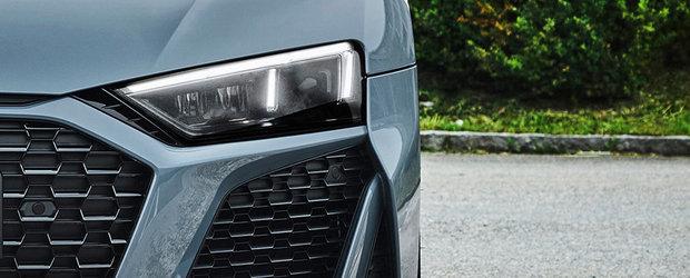 Noua masina de la Audi e nebunie curata: are motor V10 aspirat si tractiune spate! Cat costa