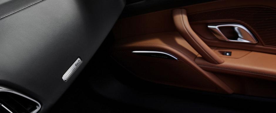 Noua masina de la Audi e nebunie curata: are motor V10 aspirat si tractiune spate!