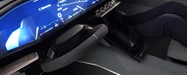 Noua masina de la Audi e nebunie curata: are caroserie care se lungeste la apasarea unui buton. Cum arata in realitate