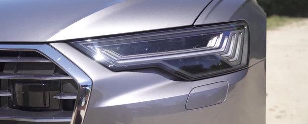 Noua masina de la Audi face BMW Seria 5 si Mercedes E-Class sa tremure. VIDEO