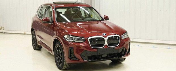 Noua masina de la BMW a ajuns mai devreme pe internet. Pozele pe care bavarezii le vor sterse de urgenta