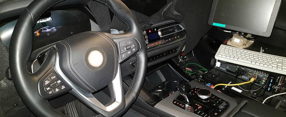 Noua masina de la BMW a fost pozata cu interiorul la vedere. Concureaza cu Range Rover si Bentley Bentayga