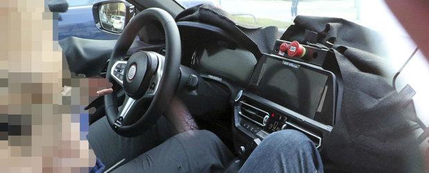 Noua masina de la BMW a fost surprinsa cu interiorul la vedere. Daca peisajul ti se pare familiar...