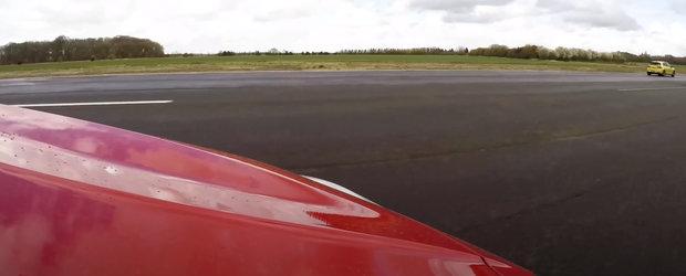 Noua masina de la BMW s-a facut de ras. Un Golf cu motor diesel a batut-o mar