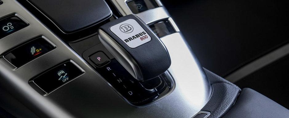 Noua masina de la Brabus e nebunie curata: are 800 de cai sub capota si face suta in doar 2,9 secunde