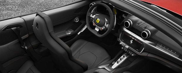 Noua masina de la Ferrari are 600 de cai putere si numele unui concept marca Lamborghini