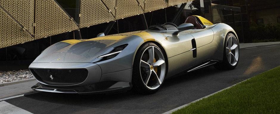 Noua masina de la Ferrari e nebunie curata: are doar un singur loc, iar parbrizul lipseste complet