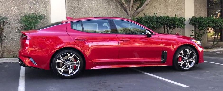 Noua masina de la KIA e nebunie totala. Are 365 CP sub capota si sare de 50.000$ in versiunea full!