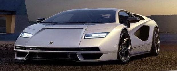 Noua masina de la Lamborghini a ajuns mai devreme pe internet. Pozele pe care italienii le vor sterse de urgenta