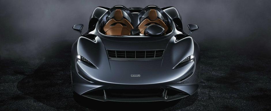 Noua masina de la McLaren e nebunie curata: are 815 cai sub capota, iar parbrizul lipseste complet