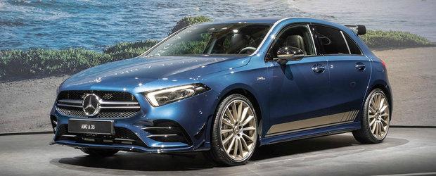 Noua masina de la Mercedes AMG ia cu asalt Salonul Auto de la Paris. Vine sa fure din clientii lui GOLF R