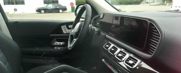Noua masina de la Mercedes e la ani lumina in fata rivalilor. Imagini in premiera din cabina limuzinei germane de lux
