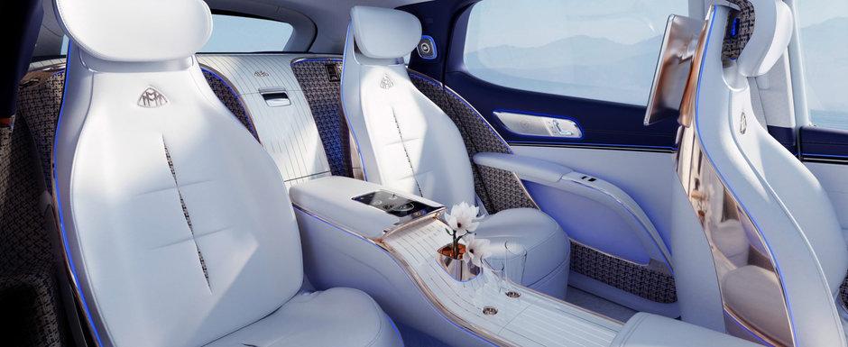 Noua masina de la Mercedes e nebunie curata: are jante pe 24 de inch la exterior si sase display-uri color la interior