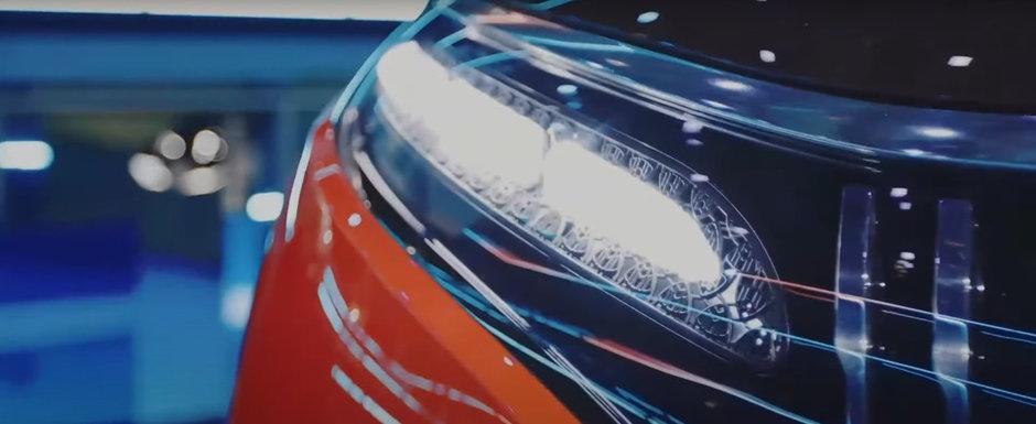 Noua masina de la Mercedes e nebunie curata: are jante pe 24 de inch la exterior si sase display-uri color la interior. Cum arata in realitate