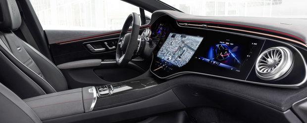 Noua masina de la Mercedes e nebunie curata: are 761 de cai sub capota si un display curbat de 55 de inch la interior!