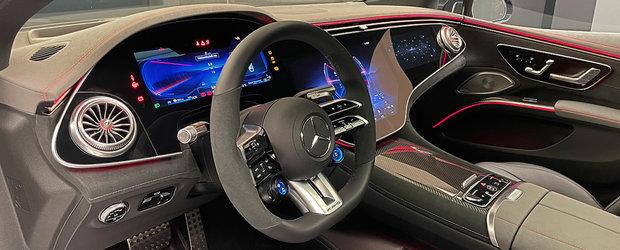 Noua masina de la Mercedes e nebunie curata: are 761 de cai sub capota si un display curbat de 55 de inch la interior! Cum arata in realitate