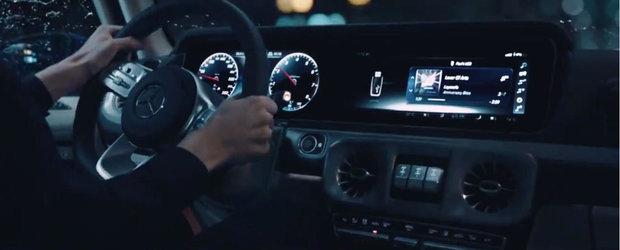 Noua masina de la Mercedes s-a filmat cu interiorul la vedere. Imaginile s-au viralizat instantaneu