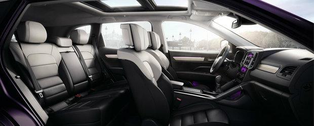 Noua masina de la Renault e LUX. Pielea Nappa si scaunele ventilate sunt STANDARD