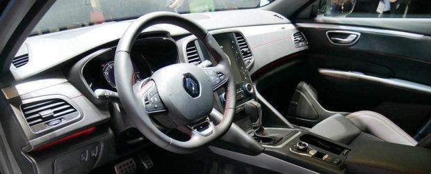 Noua masina de la Renault e LUX TOTAL. Farurile Full LED, tapiteria din piele si chiar scaunele cu masaj sunt STANDARD