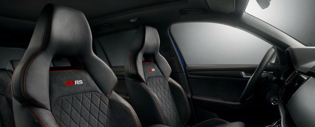 Noua masina de la Skoda are scaune ca de RS5 Coupe. FOTO ca sa te convingi si singur