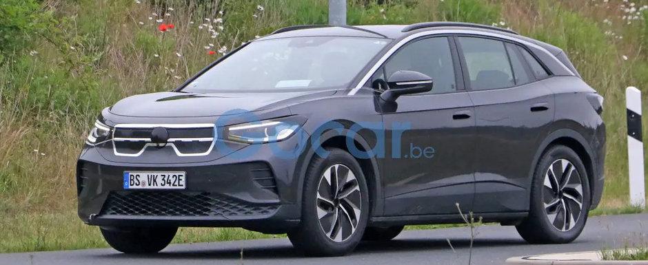 Noua masina de la Volkswagen a fost surprinsa camuflata in Kia, dupa ce anterior iesise pe strazi deghizata in Opel