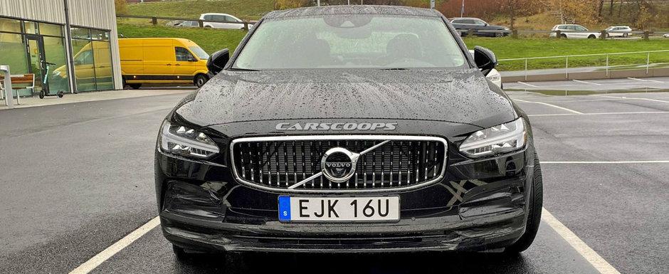 Noua masina de la Volvo a fost surprinsa partial necamuflata si arata exact asa. POZE REALE