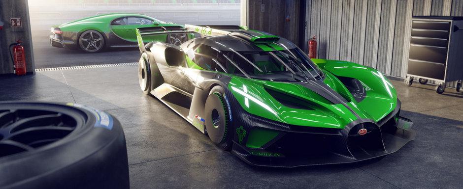 Noua masina de serie de la Bugatti e nebunie curata: are 1600 de cai sub capota, insa nu cantareste decat 1.45 tone!