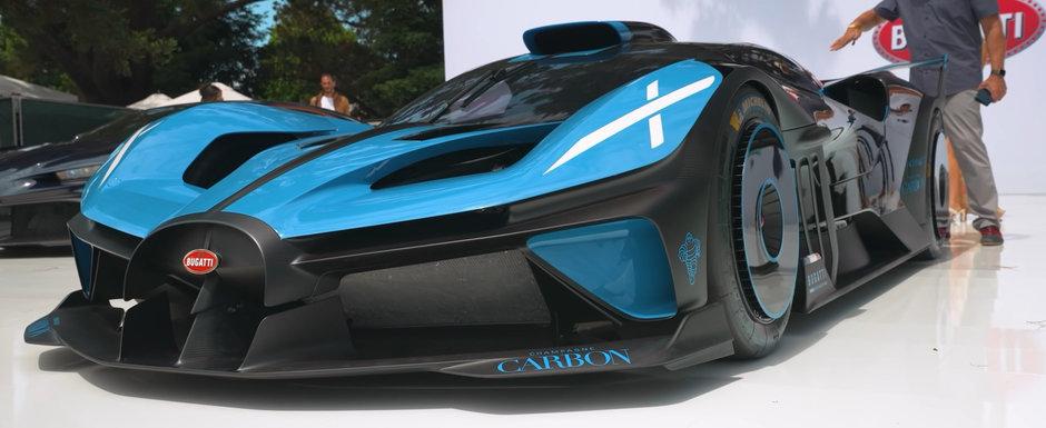 Noua masina de serie de la Bugatti e nebunie curata: are 1600 de cai sub capota, insa nu cantareste decat 1.45 tone! Cum arata in realitate