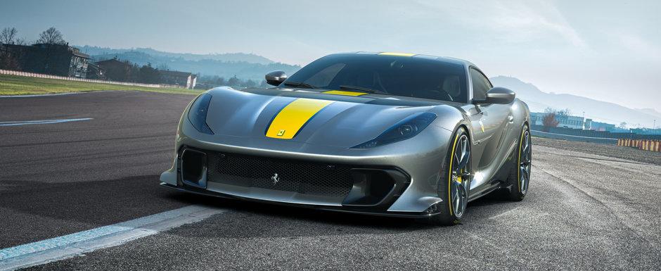 Noua masina de strada de la Ferrari e nebunie curata: are motor care se tureaza pana la 9500 rpm!