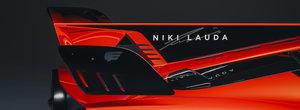 Noua masina dedicata celebrului Niki Lauda are ventilator aerodinamic si un V12 care se tureaza pana la 12.100 rpm