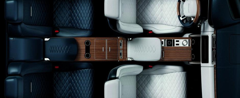 Noua masina e definitia opulentei. Prima imagine oficiala scoate la iveala piele in doua culori si scaune individuale