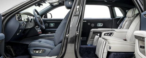 Noua masina e definitia opulentei. Primele imagini scot la iveala piele in doua culori si scaune individuale