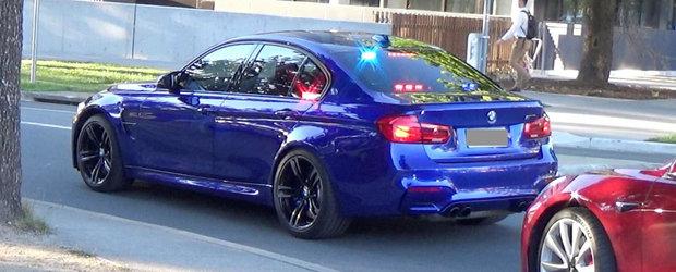 Noua masina e folosita incognito de politie: are 431 CP si face suta in doar 4,1 secunde